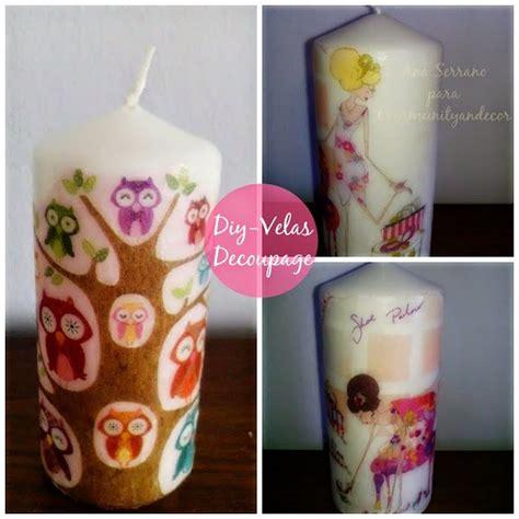 tutorial decoupage en velas decora y personaliza tus velas con decoupage decoupage