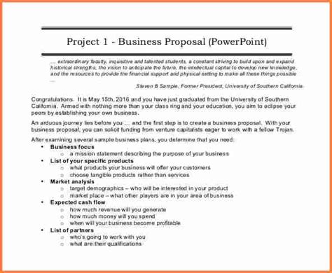 6 formal business proposal format project proposal 6 sle of business proposal pdf project proposal