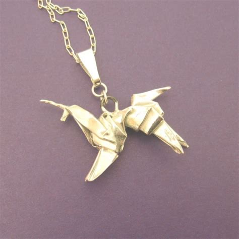 Origami Blade - silver origami unicorn pendant blade runner allegro arts