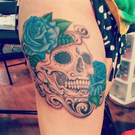 thigh tattoo process 115 best thigh tattoos ideas for women designs