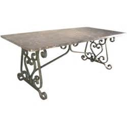 Wrought Iron Dining Tables 1900 S Wrought Iron Marble Top Dining Table At 1stdibs