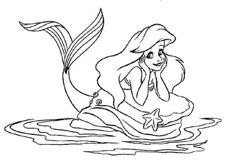 Beautiful Mermaid Coloring Pages beautiful mermaid coloring pages diy crafts