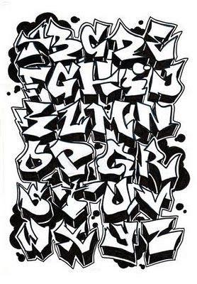 lettere da graffiti graffiti alfabeto quot graffiti quot grafite pinte