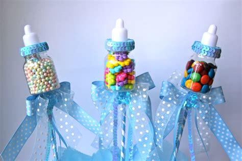 baby bottle centerpieces baby shower baby bottle favors picks or sticks baby by favorsboutique