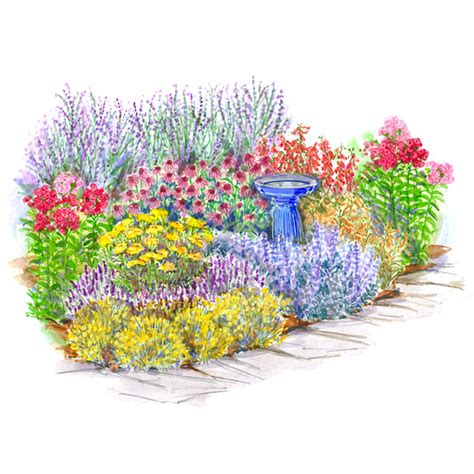 Flower Garden Layout Plans No Fuss Garden Plans
