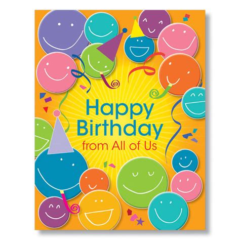 Birthday Cards With Faces