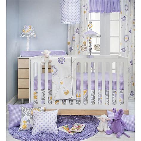 Purple And White Crib Bedding Glenna Jean Fiona Crib Bedding Collection In White Purple Bed Bath Beyond