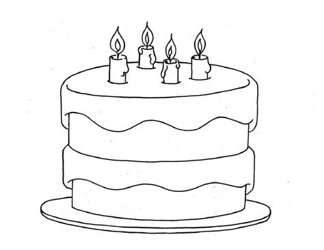 blank birthday coloring pages birthday color pages to catch kids attention kiddo shelter