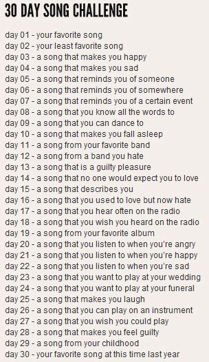 day song grae new york 30 day song challenge days 11 15