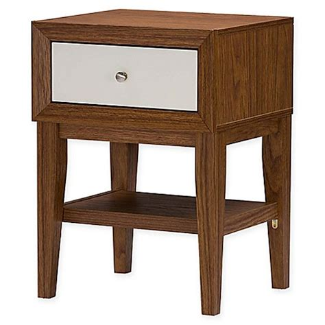 Baxton Studio Nightstand by Baxton Studio Gaston Nightstand Bed Bath Beyond