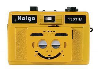 holga 135 tim 35mm 1/2 frame plastic twin/multi image