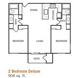 two bedroom two bath floor plans 2 bed 2 bath floor plans home planning ideas 2017