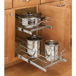 cabinet pullout single and double tier wire baskets rev a