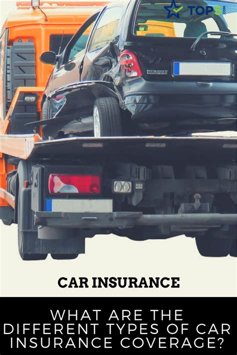 Car Types Of Insurance by What Are The Different Types Of Car Insurance Coverage Top5