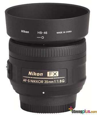 Lensa Fix Nikon 35mm lensa nikon 35mm f 1 8g fx