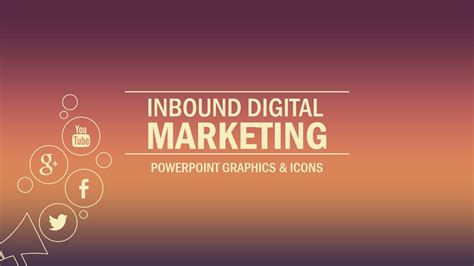 advertising powerpoint templates inbound marketing powerpoint template slidemodel