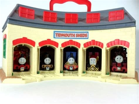 And Friends Take And Play Tidmouth Sheds by Harvey And Clarabel Take N Play Friends