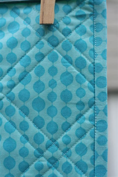 Backing And Binding A Quilt by Blue Squares Baby Quilt Quilting Rainbows