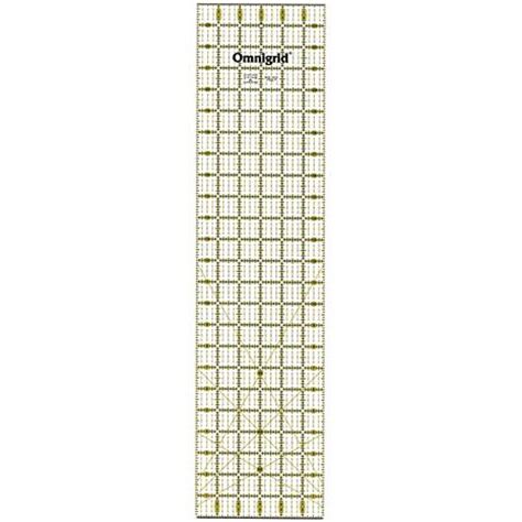6 X 24 Quilting Ruler by Omnigrid Quilter S Ruler 6 X 24 2349046 Hsn