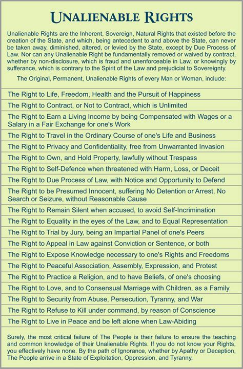 Contingent Offer Letter Government Contract unalienable rights freedom river