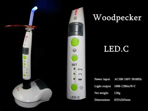 led c woodpecker 174 dental curing light led c wireless curing