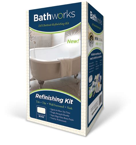 bathtub restoration kit bathtub refinishing kits by bathworks premium tub tile