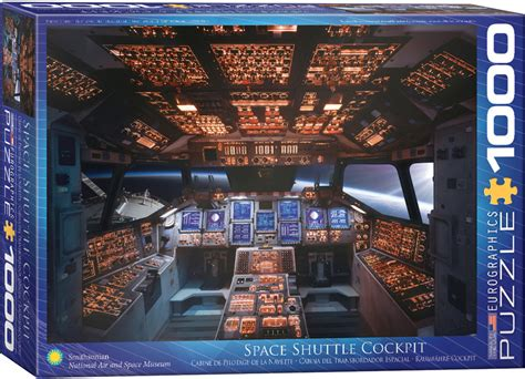 columbia shuttle cockpit jigsaw puzzle  eurographics