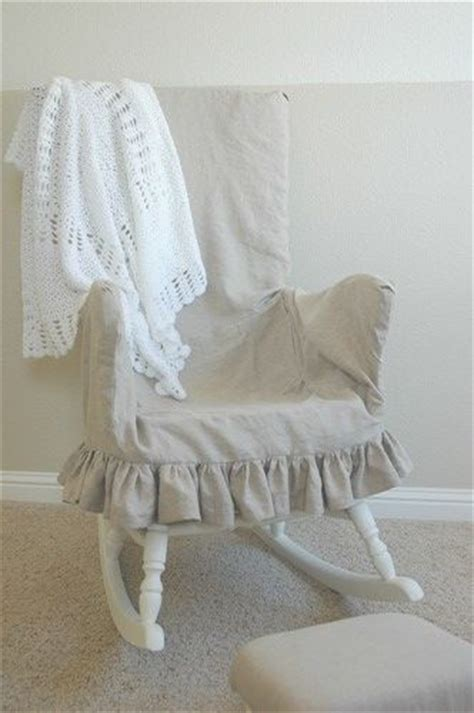 rocking chair slipcover laziest rocking chair slipcover to make do try pinterest