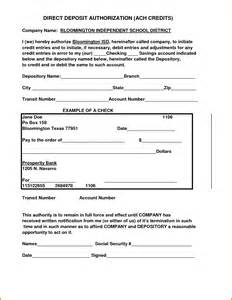 ach authorization form 9067480 png letterhead template