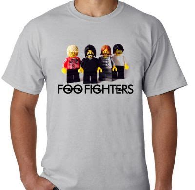 Kaos Foo Fighters Logo 14 Singlet Tanpa Lengan Tpl Ffg14 Pria kaos foo fighters lego logo kaos premium