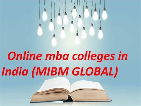 Mba Without Degree In India by Ppt Both Mba And Pgdba Mba Colleges In India
