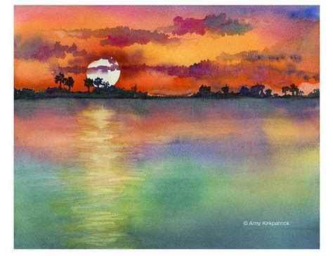 water color sunset best 25 watercolor sunset ideas on sunset