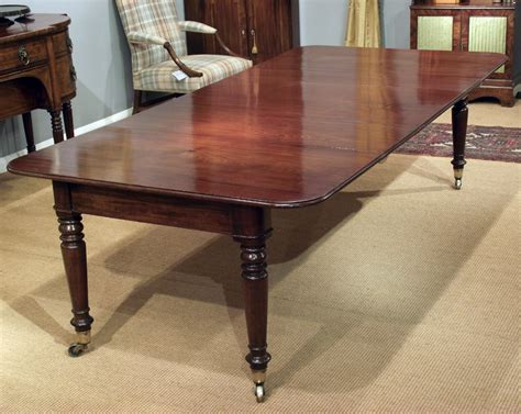 antique  seater mahogany dining table large table