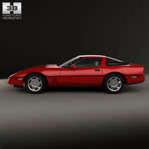 chevrolet corvette c4 coupe 1983 3d model humster3d