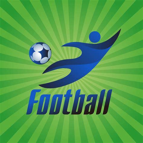 Design Logo Football | football company logo design vector free vector graphic