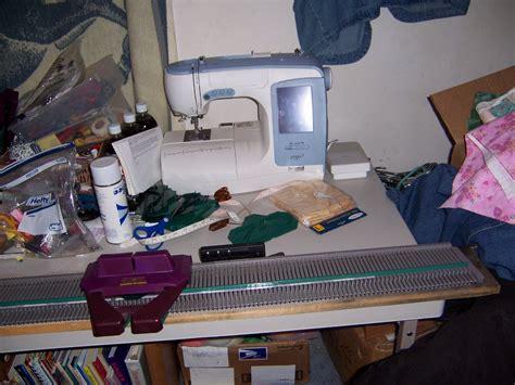 set up knitting to knit and sew setting up my usm knitting machine