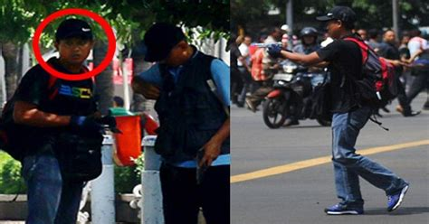 Celana Polisi Bom Sarinah ini sosok afif teroris penembak polisi di sarinah okezone news