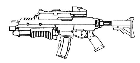 Free Coloring Pages Of Machine Guns | machine gun clipart coloring picture pencil and in color