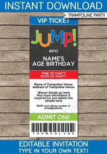 birthday ticket template troline ticket invitations birthday template
