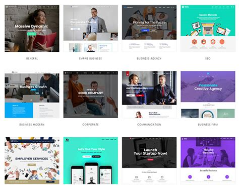 themeforest massive dynamic 20 seo friendly premium wordpress themes from themeforest