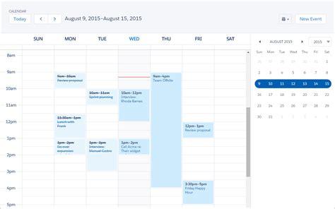 Calendar Anything Calendar Anything Salesforce Lightning Calendar