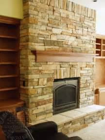 rock brick fireplace fireplaces and more renovation projects