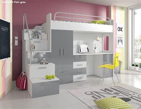 Hochbetten Mit Schreibtisch Und Schrank