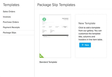 zoho inventory templates zoho inventory templates for transactions