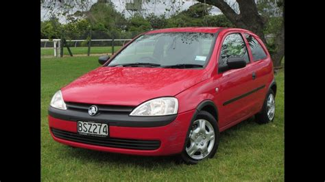 2001 Holden Barina 5 Speed Manual Nz New Hatch No Reserve