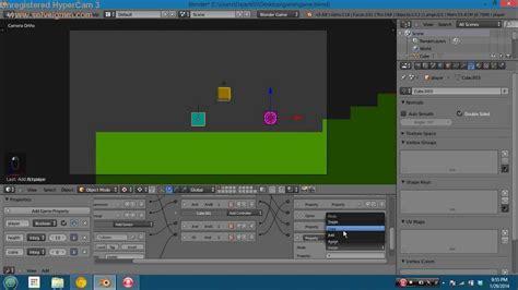 blender tutorial 2d game quot 2d quot sidescroller in blender game engine youtube