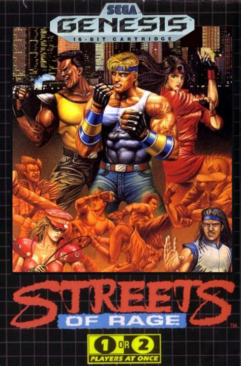 Bare Knuckle 1 bare knuckle ikari no tetsuken streets of rage world rom