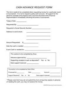 employee advance request form debit card no credit check