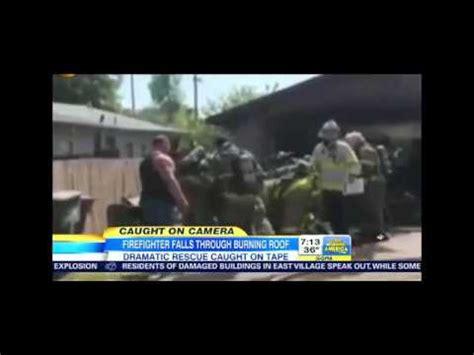anaheim firefighter falls through roof firefighter falls through roof in fresno ca