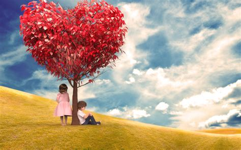 images of love tree romantic heart shape tree love wallpapers new hd wallpapers